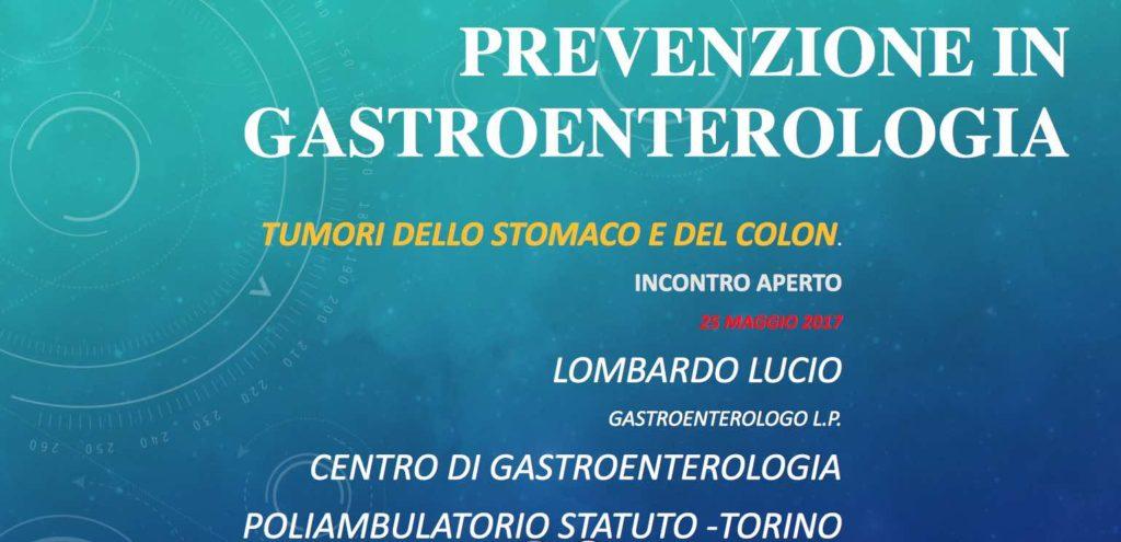 prevenzione in gastroenterologia
