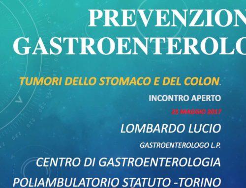 Prevenzione Tumori dello Stomaco e del Colon