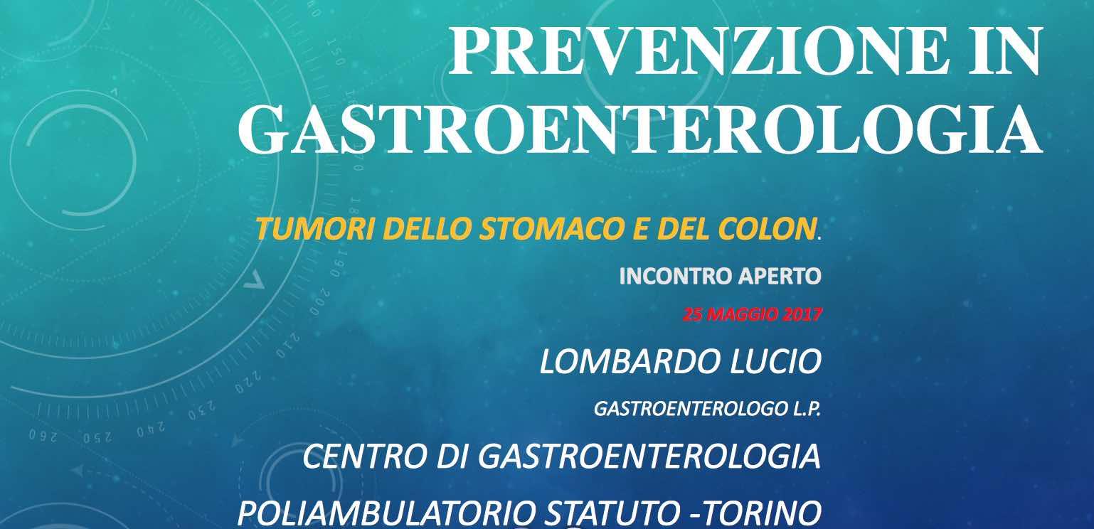 Prevenzione gastroenterologic