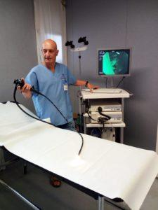 Gastroenterologo nuovo strumento endoscopico